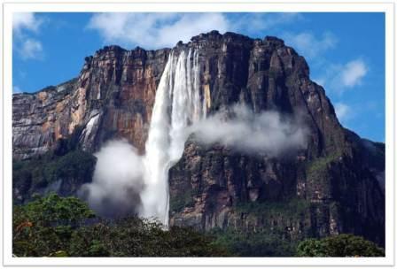 Водопад анхель самый высокий в мире